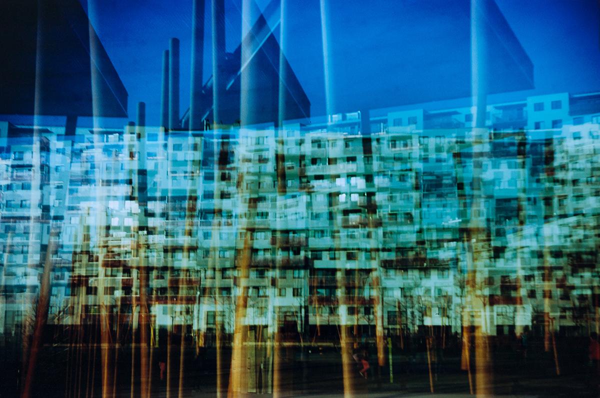 Fassaden Mehrfachbelichtung