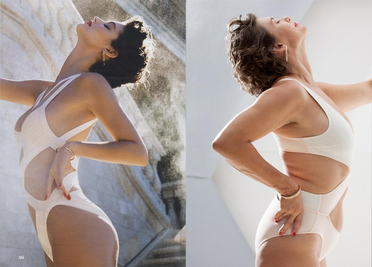 Bild aus der WIESO? Serie, Schönheitsideal versus Realität