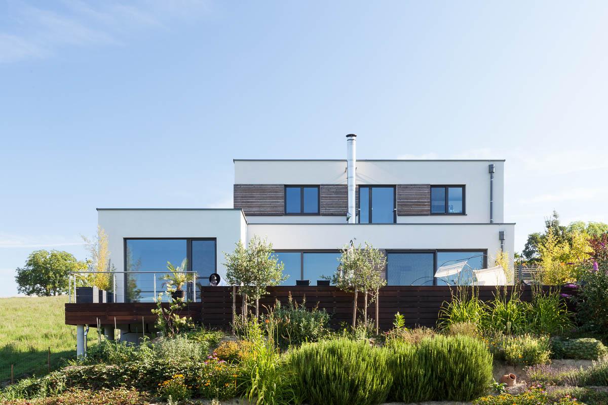 Architekturfotografien eines Einfamilienhauses