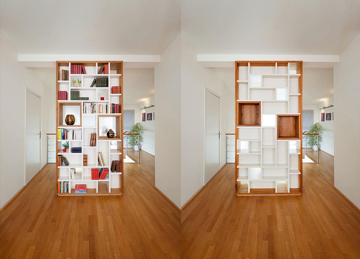 Designer Bücherregal von Michael Scheriau